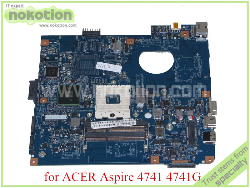 NOKOTION MB.BJE01.001 JE40-CP MB 48.4GY02.031 MBBJE01001 For acer aspire 4741 4741g motherboard HM55 DDR3 icw50 la 3581p for acer aspire 5520 5520g motherboard la 3581p mb ak302 005 mb ak302 002 tested good free shipping