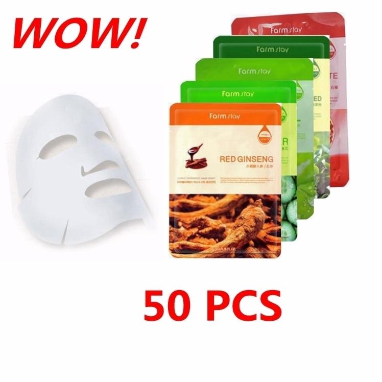 Farm stay Whitening Moisturizing Repair Anti-Oxidant Firming Anti-Aging Mask Set сыворотка для лица farm stay farm stay fa035lwozm33