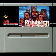 16 бит игры* Романтика трех царств II(PAL Европейская версия