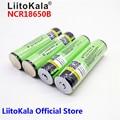 New 2018 Original LiitoKala for Panason18650 3400mah 18650 NCR18650B Rechargeable Li-ion battery 3400mAh With PCB