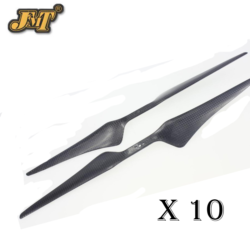 JMT 15x5.5 3K Carbon Fiber Propeller CW CCW 1555 CF Props Cons Props For Octocopter Multi Rotor UFO f06833 17x5 5 carbon fiber propeller cw ccw 1755 props cons tl2840 for t motor hexacopter octocopter multi rotor fs