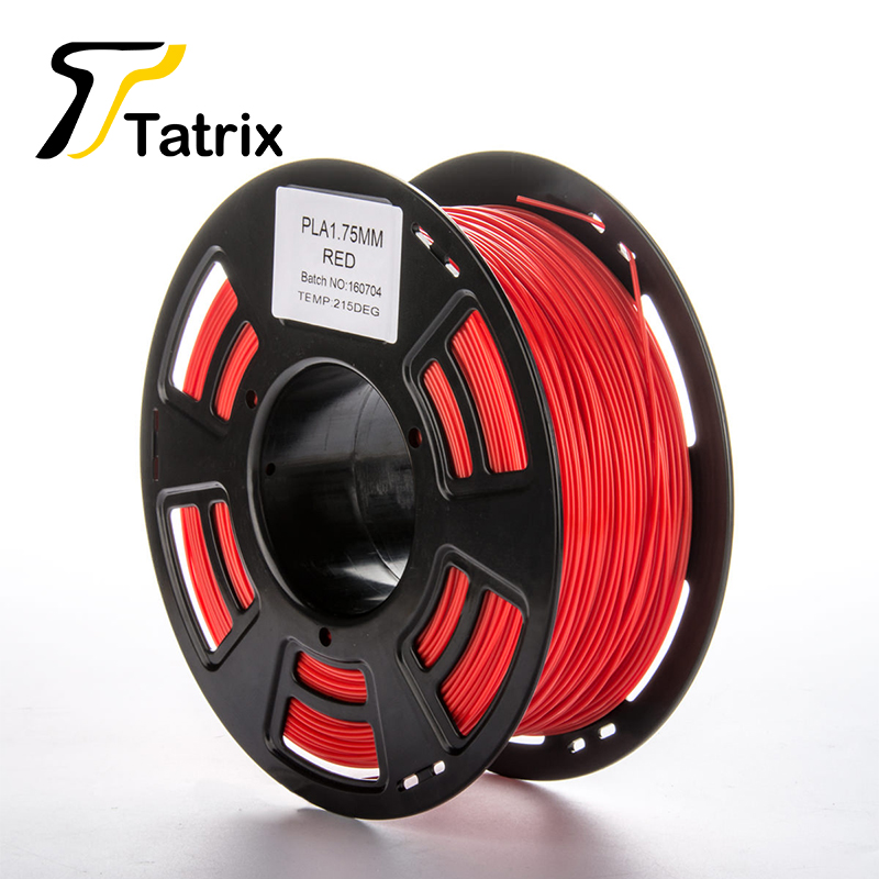 ФОТО 2017 Tatrix ABS/PLA 1.75 MM Filament For 3d Printer PLA Filament 1KG New Coming Material Consumables Different Color