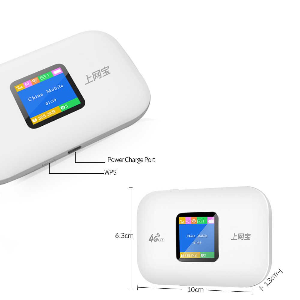Desbloqueado 4g roteador wifi mini roteador 3g 4g lte bolso portátil sem fio wi fi móvel hotspot roteador wi-fi do carro com slot para cartão sim