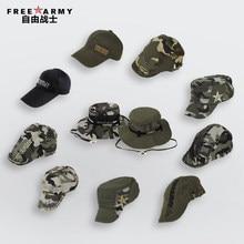 Exército livre Da Marca Estilo Unisex Chapéu Camuflagem Bonés de Beisebol  Dos Homens Snapback de Aba Larga Chapéus Balde Para Ca. d73af3477a7
