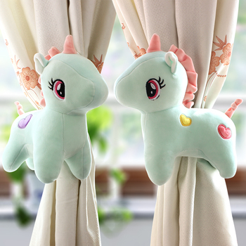 Unicorn Window Curtain Tieback Buckle