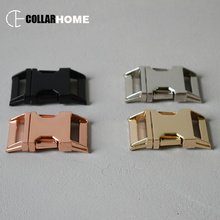 20pcs Plated metal buckle side release clasp snap hook 1 Inch(25mm) belt strap for bag dog pet collar DIY accessories 4 colors