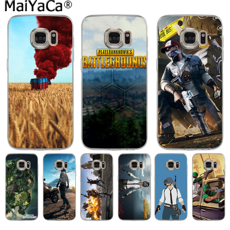 MaiYaCa BATTLEGROUNDS Jedi survival game New Arrival phone case for Samsung S9 S9 plus S5 S6 S6edge S6plus S7 S7edge S8 S8plus