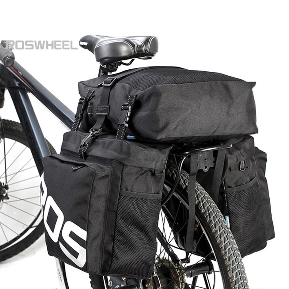 Roswheel 自転車キャリーバッグ自転車バイク 37L で耐久性のある防水 3 1 自転車リアパニアバッグバイクバッグ  グループ上の スポーツ & エンターテイメント からの 自転車用バッグ & パニア の中 2