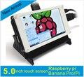 5 дюймов TFT LCD Дисплей Модуль с USB для Сенсорного Управления Raspberry Pi B B 3 + Банан П. и. BB Черный Pidora Raspbian linux