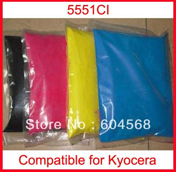 High quality color toner powder compatible kyocera 5551ci Free Shipping high quality color toner powder compatible kyocera c5350dn free shipping