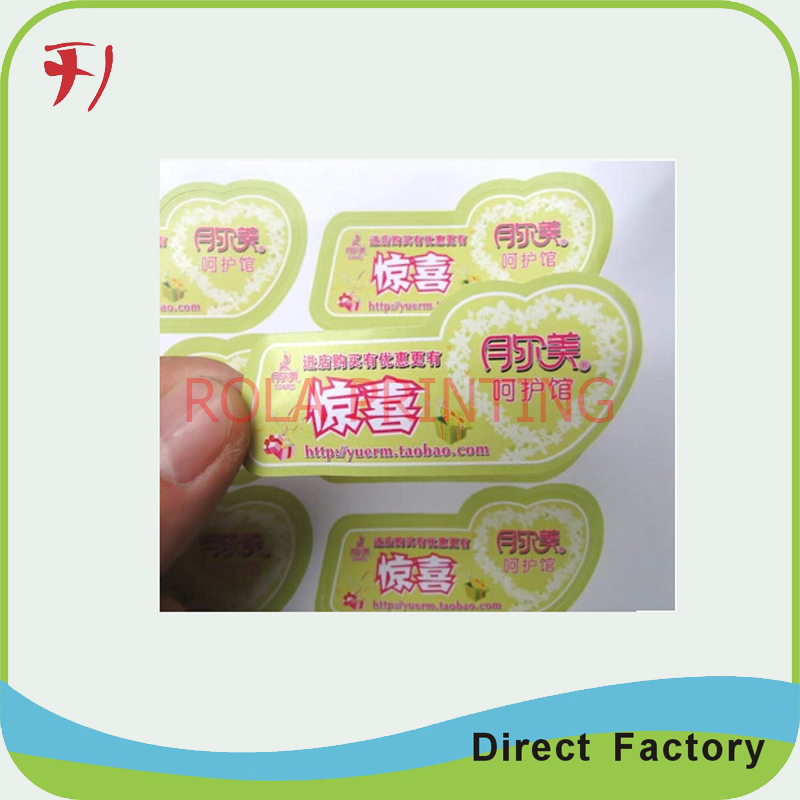 Customized Cheap Price Custom Paper Logo Sticker Printing Round - Custom logo stickers cheap