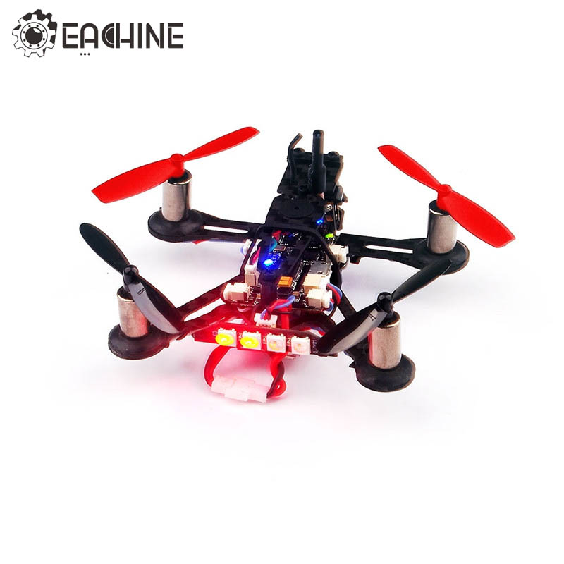 Eachine QX95S F3 Betaflight OSD Buzzer LED Micro FPV Racing Drone RC Quadcopter BNF VS Eachine Minuscule QX95 Caméra Drone