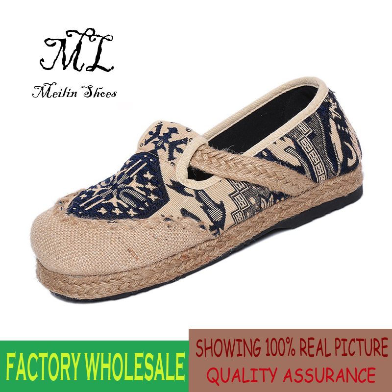 Flats Quality Cotton Shoes Woman 2016 Spring And S...