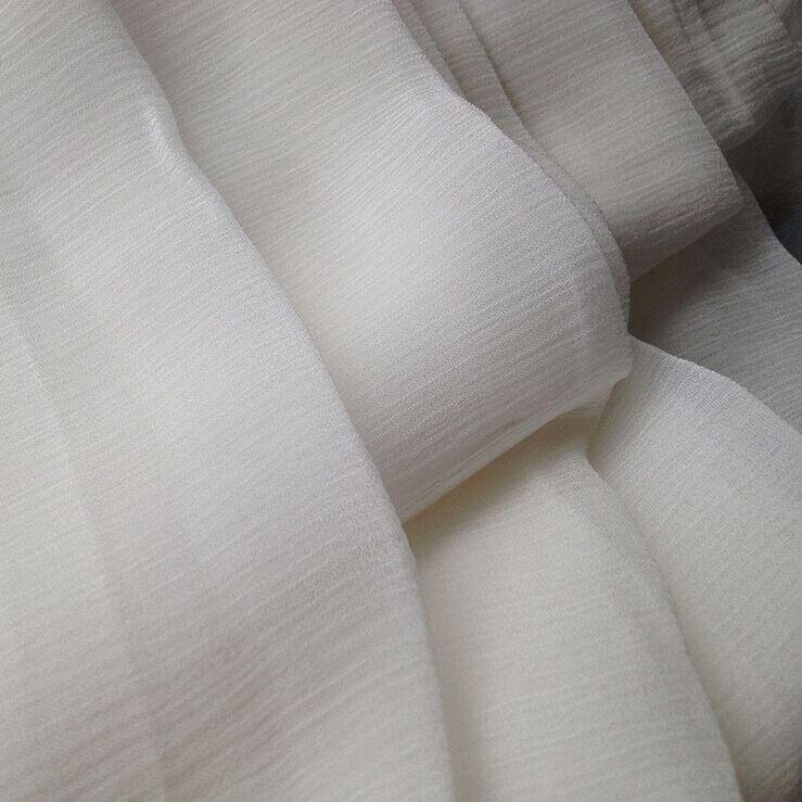 8 мм шелковая ткань шелк тутового шелкопряда 140 см 110 см ширина 34 gsm натуральный белый цвет 10 метров мелкая Gpt04