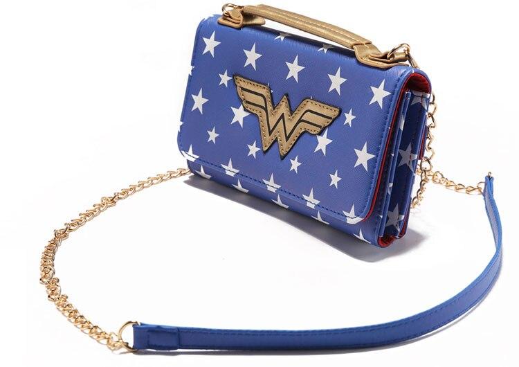 17 Lady Style Wonder Women Suicide Squad Joker Anime Women Mini Shoulder Bag Leather Prints Girl Messenger Multifunction Bags 14