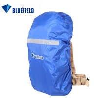 BlueField Saco Ao Ar Livre Mochila Capa de Chuva Mochila Capa De Chuva Impermeável Com Faixa Reflexiva para Caminhadas Camping Viajar 15-75L