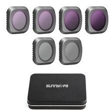 Für Mavic 2 Pro Kamera Filter UV CPL ND 4 8 16 32 Neutral Dichte Filter Kit Für DJI Mavic 2 Pro Drone Kamera Objektiv Zubehör