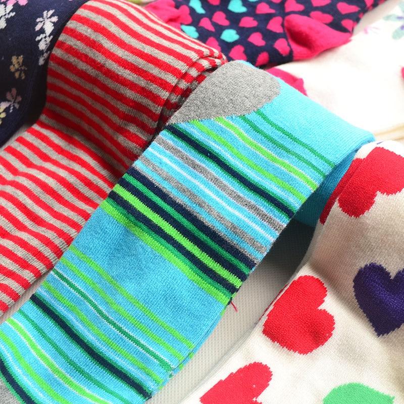 3pairs / Pack 1-8y Baby Pambıqlı külotlu çorap Uşaq - Uşaq geyimləri - Fotoqrafiya 6