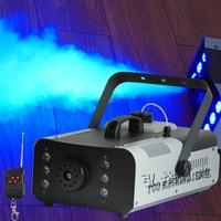 1500 Вт RGB 3in1 LED DMX Fogger дым машина 24 шт. RGB 3in1 LED Красочный машина тумана