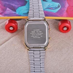 Image 2 - Casio watch 골드 시계 브랜드 남성용 최고급 쿼츠 디지털 남성 시계 스포츠 방수 시계 듀얼 디스플레이 방수 часы мужские relogio masculino reloj hombre erkek kol saati montre homme zegarek meski AQ 230