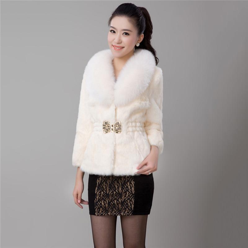 7f5caf67d Hot Sale] Faux Fur Coat Women White Black Green 7 Colors XS 4XL Plus ...