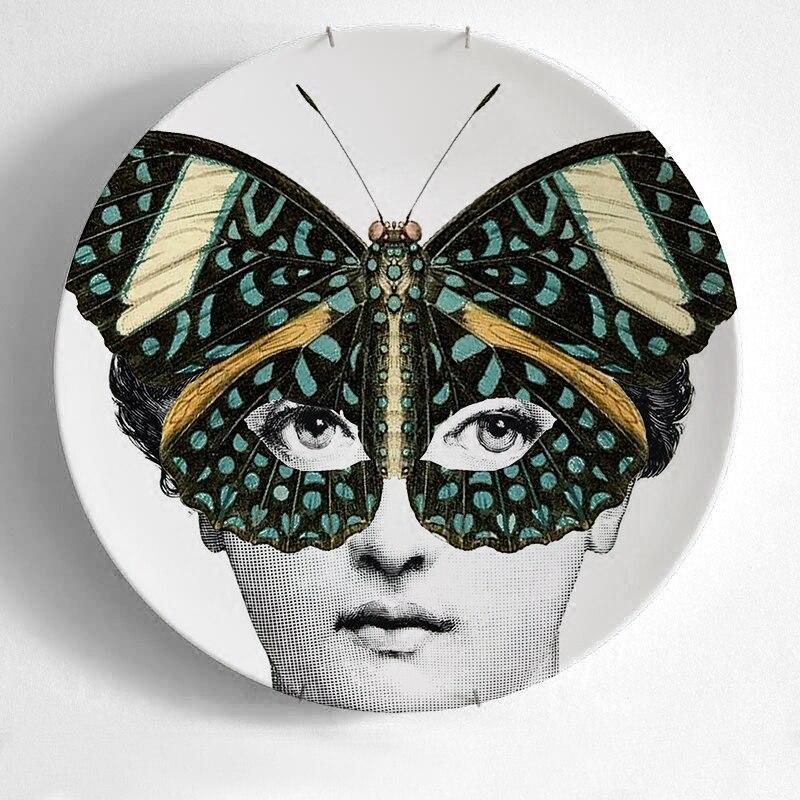 italy fornasetti decorative plates wall plate - Decorative Wall Plates