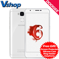 Original DOOGEE Y6 Piano White 4G Mobile Phone Android 6.0 4GB RAM 64GB ROM Octa Core 13.0MP Camera Dual SIM 5.5 inch Cell Phone