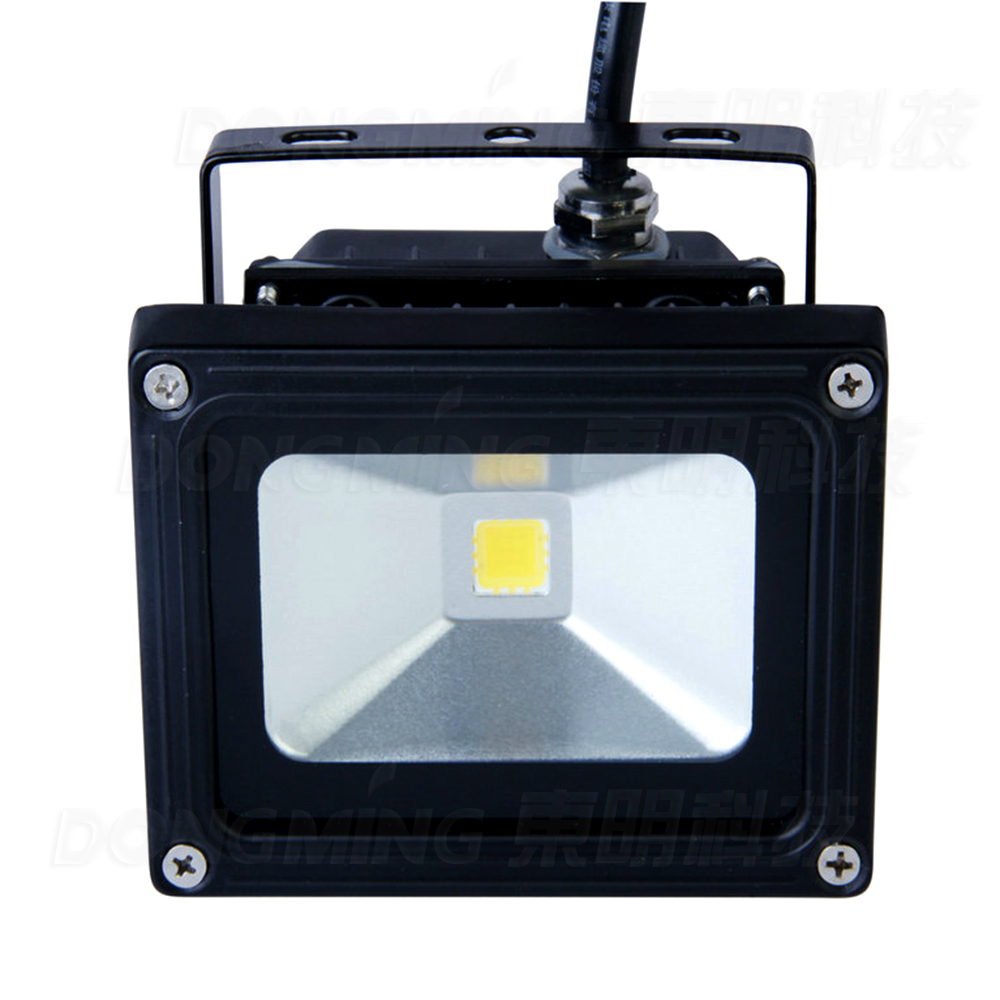 Wholesale 15pcs/lot Waterproof Ip65 900lm Rgb 10w Led Flood Light Bulbs 12v Dc Dimmable Led Flood Light Outdoor Cool White Lights & Lighting