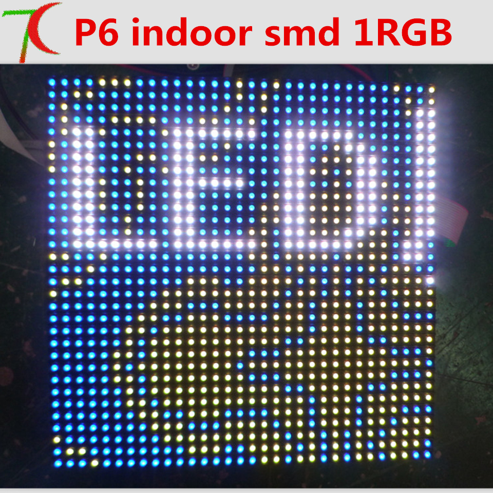 Factory direct sales P6 indoor 8scan SMD full color led moduleFactory direct sales P6 indoor 8scan SMD full color led module