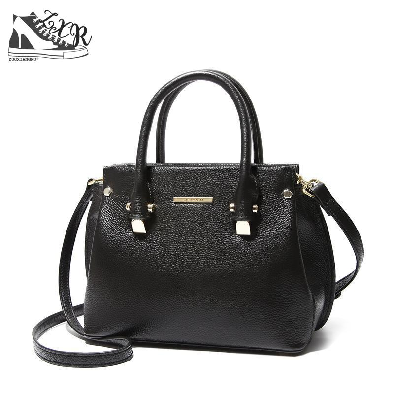 New Genuine Leather Totes Female Shoulder Crossbody Bags For Women Leather Handbag Ladies Messenger Bag Large Top-handle Bag new genuine leather totes female shoulder crossbody bags for women leather handbag ladies messenger bag large top handle bag