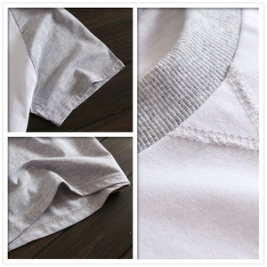 Image 5 - Più il formato 100% pantaloncini di cotone pigiama set degli uomini di Estate del manicotto del bicchierino degli indumenti da notte per il maschio Coreano pijama hombre pigiama homme