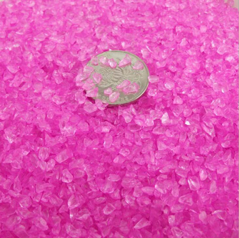 High Quality Pink Garden Stones