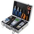 22 PCS FTTH FIber Optic toolbox FC-6S Faser Hackmesser Strippen Faser Optic Meter und 10 MW VFL Visuelle Fehler locator und