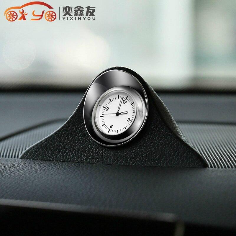 Авто-Стайлинг светящиеся кварцевые часы для автомобиля Авто Интерьерные часы автомобильные креативные цифровые часы со стрелками украшен...