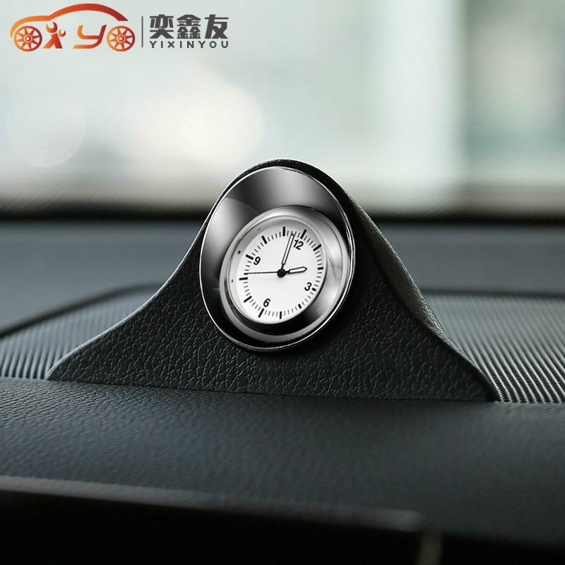 Carro-estilo luminoso relógio de quartzo carro auto interior relógio automóvel criativo ponteiro digital relógios decoração ornamento (6.3)