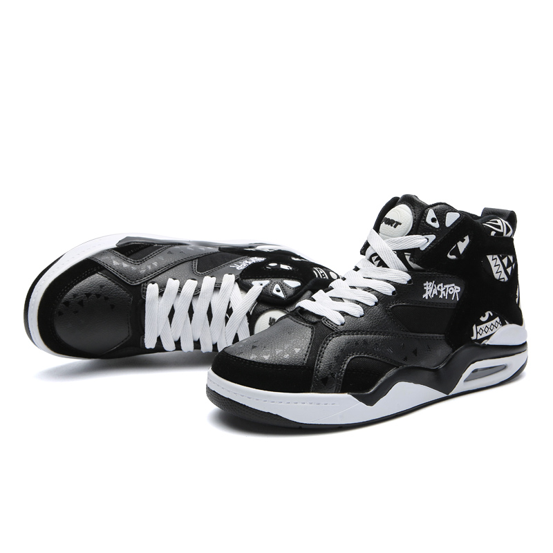 Image 5 - Fashion Casual Shoes Mens Breathable Trainers High Top Air Cushion Tenis Male Sneakers Adult Krasovki Size 46 Chaussures HommeMens Casual Shoes   -