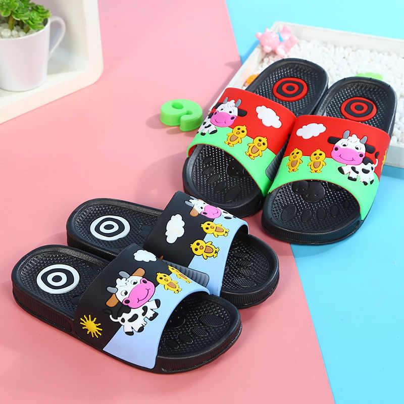 0367ba9c1354 KINE PANDA Little Kids Girls Boys House Shoes Soft Child Toddler Baby  Slippers Home Garden Clogs