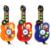BS # S Led Guitarra Instrumento Musical Crianças Órgão Eletrônico Brinquedo DJ Stage Estilo