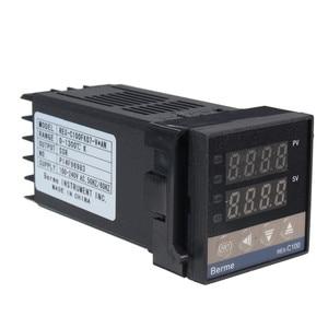 Image 5 - Neue Alarm REX C100 110V zu 240V 0 zu 1300 Grad Digital PID Temperatur Controller Kits mit K Typ sonde Sensor