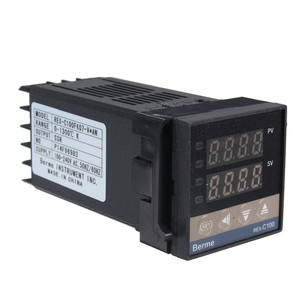 Image 5 - New Alarm REX C100 110V to 240V 0 to 1300 Degree Digital PID Temperature Controller Kits with K Type Probe Sensor