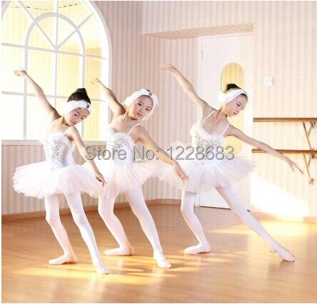 30542223b Hot Sale White Swan Lake Professional Ballet Tutu Dancewear Girls ...