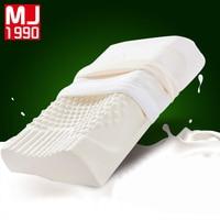 Thailand Import Natural Latex Cervical Vertebrae Health Care Orthopedic Massage Latex Pillow Memory Foam Pillow Case Pillow Core