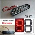 """10 """"Красный Цвет Digita Номера Модулей, светодиодных Вывесок, 7 Сегмент Модулей, высокая Яркость Led чип, светодиодный Экран, часы"""