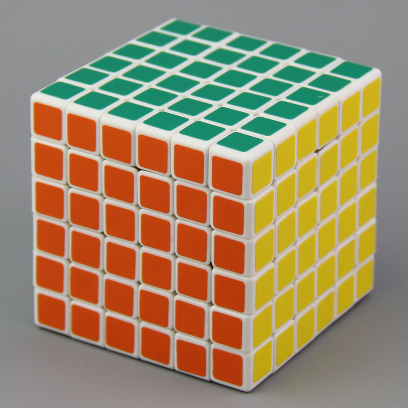 Cube professionnel 6x6x6 6.8 cm vitesse pour cubes magiques antistress puzzle néo Cubo Magico autocollant pour enfants jouets éducatifs pour adultes