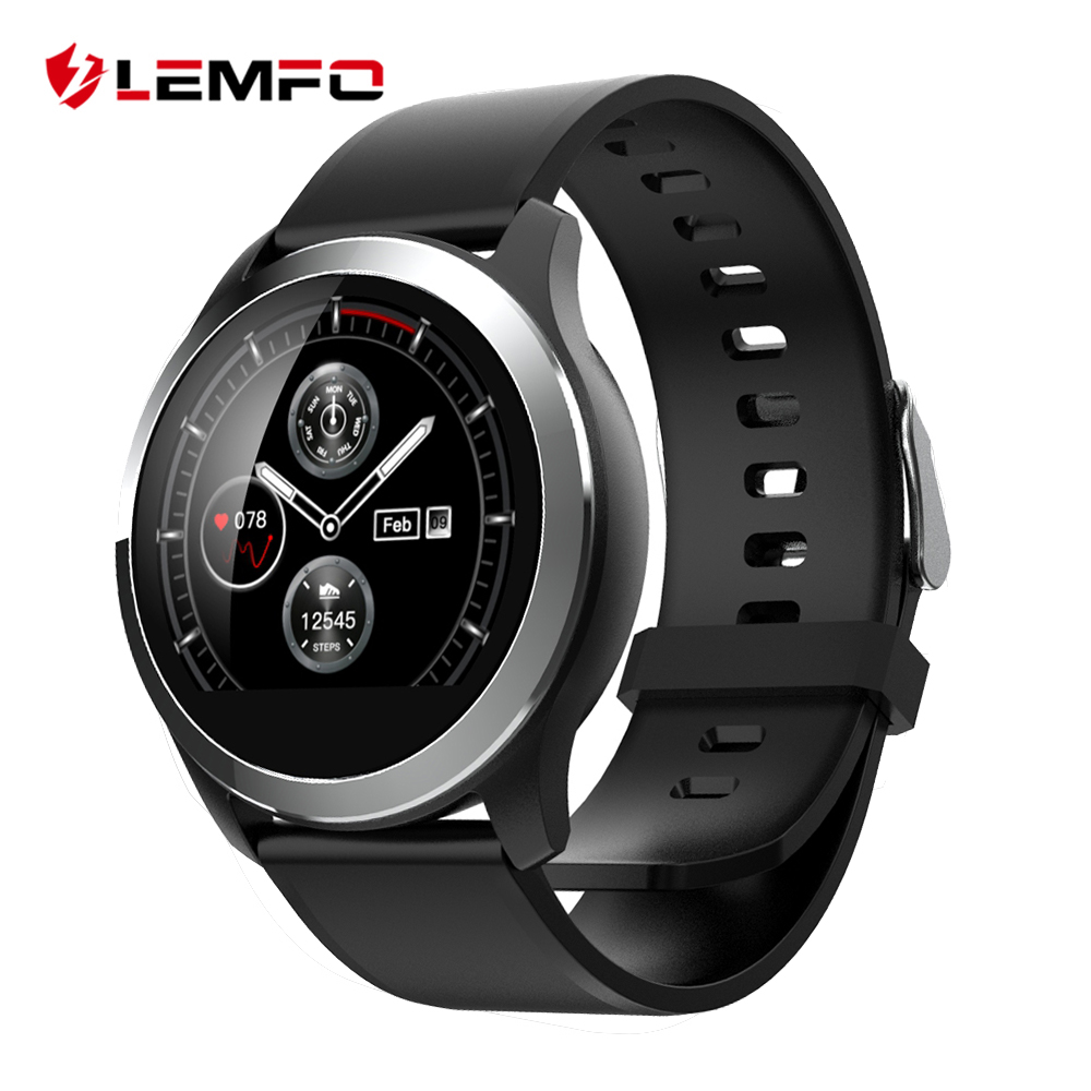 LEMFO 2019 Smart Watch Men PPG ECG IP68 Waterproof Heart Rate Blood Pressure Sport Smartwatch For