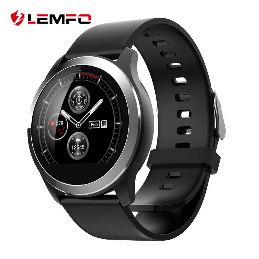 LEMFO 2019 Smart Watch Men PPG + ECG IP68 Waterproof Heart Rate Blood Pressure Sport Smartwatch For Android IOS Phone Aged