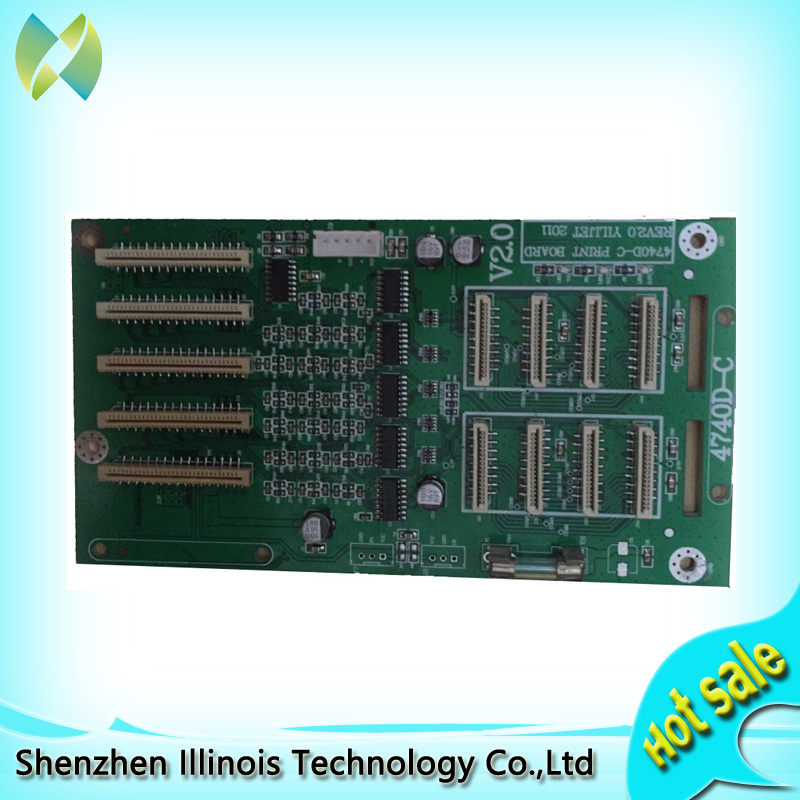 Large format solvent printer Xenons DX7 printhead board carriage card 1H one head for Epson DX7 hot sales 1pc large format printer of flora lj320p printer polaris printhead ink sub tank selling