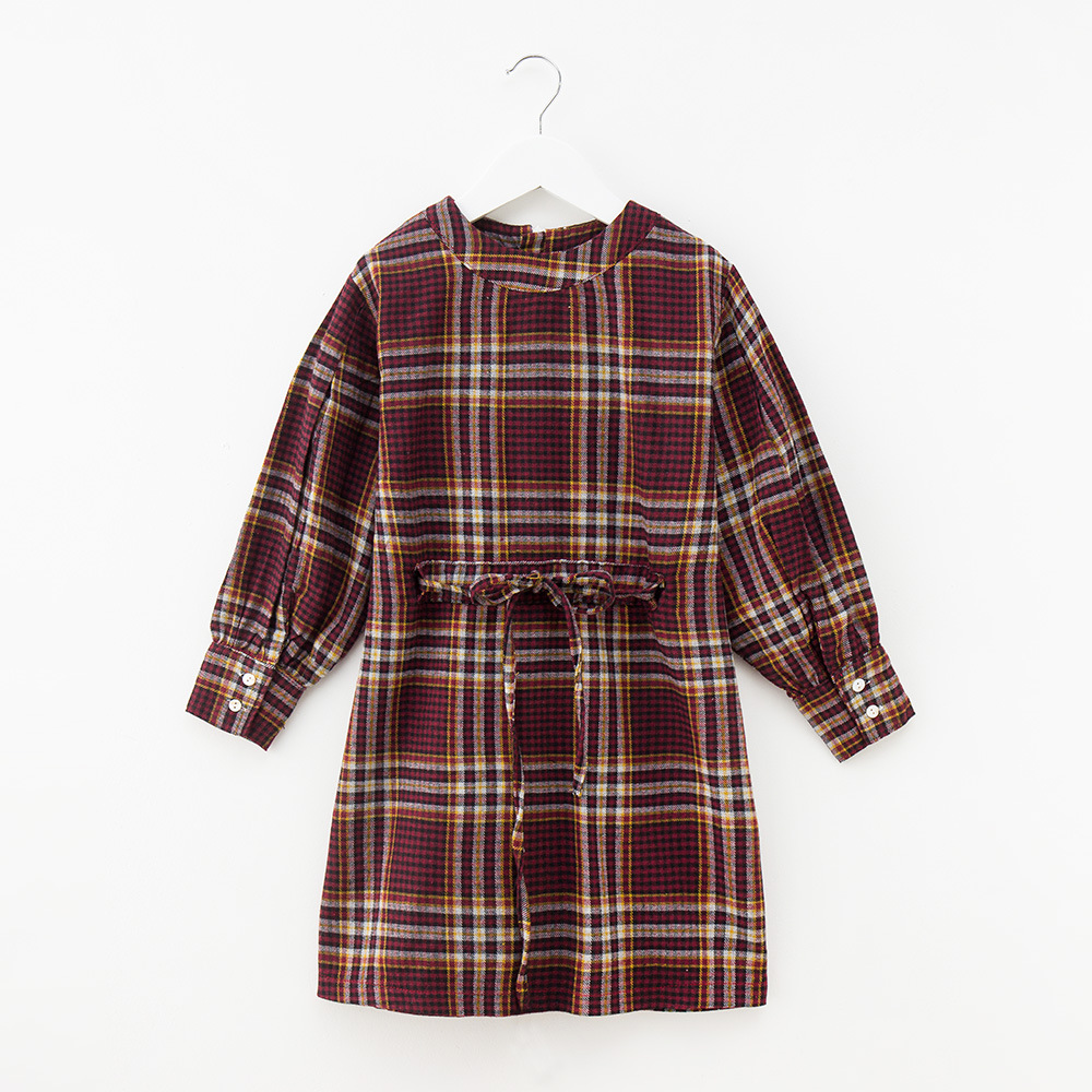 Kids Dress for Girls Princess Dresses Autumn Lace Plaid Teenage Baby Girls Dress Cotton Long Sleeve Children Costume 12 Years autumn girls children s kids baby long sleeve lace mesh tutu patchwork basic dresses princess wedding party dress vestidos s5691