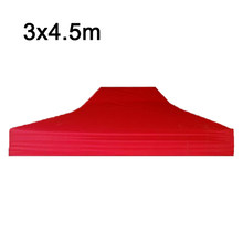 Structures Tent Cloth Yard Garden Outdoor Gazebos 3*4.5m Party Folding Waterproof Camping Shelter Top Practical(China)