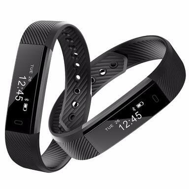imágenes para ID115 Pulsera Inteligente de Fitness Actividad Rastreador Podómetro Monitor de Alarma de Banda Reloj de Pulsera Inteligente para iphone Android teléfono Inteligente